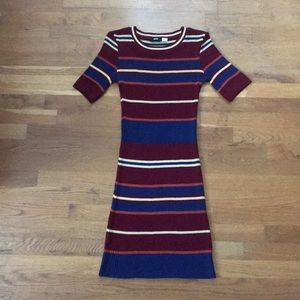 BDG Urban Outfitters Striped Dress